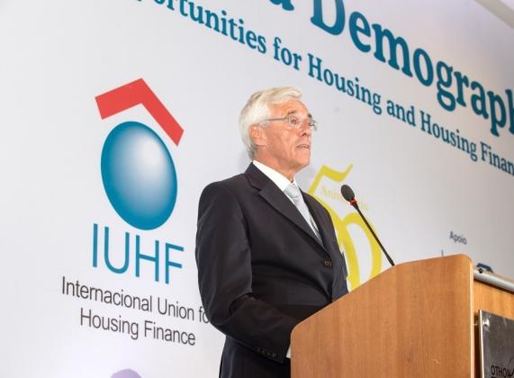 Andreas Zehnder, presidente da IUHF