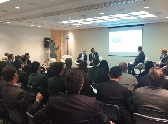 Gilberto Duarte, presidente da Abecip, abriu o evento