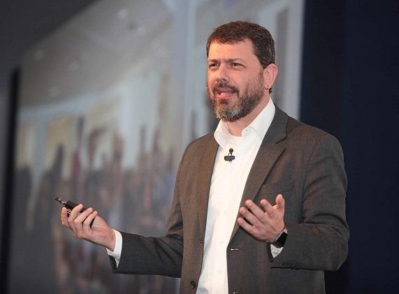 O jornalista e palestrante João Dória durante o 16º Prêmio Abecip de Jornalismo