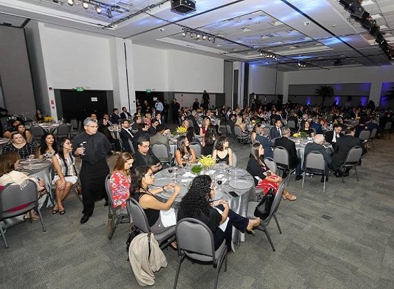 Convidados durante o 16º Prêmio Abecip de Jornalismo