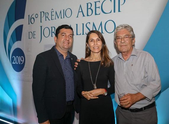 Ricardo Droppa, Cássia Mello, Afonso Mônaco, da Recordtv